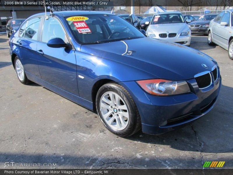 2006 bmw 3 series 325xi sedan in mystic blue metallic photo no 45475312. Black Bedroom Furniture Sets. Home Design Ideas