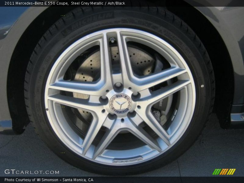 2011 E 550 Coupe Wheel
