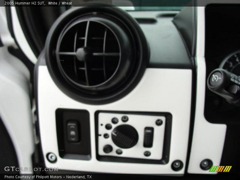 Controls of 2005 H2 SUT