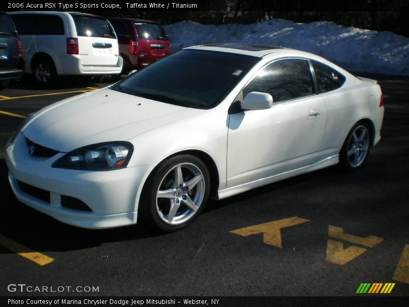2006 acura rsx type s sports coupe in taffeta white photo. Black Bedroom Furniture Sets. Home Design Ideas