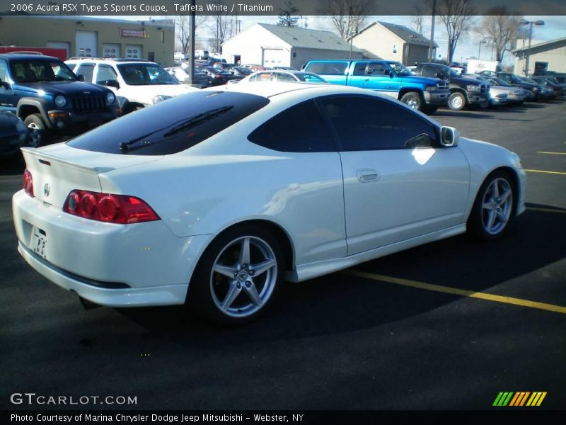 2006 Acura RSX Type S Sports Coupe in Taffeta White Photo No. 4570103 ...