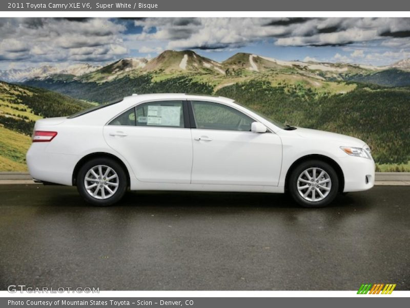 2011 toyota camry xle v6 in super white photo no 45945993. Black Bedroom Furniture Sets. Home Design Ideas
