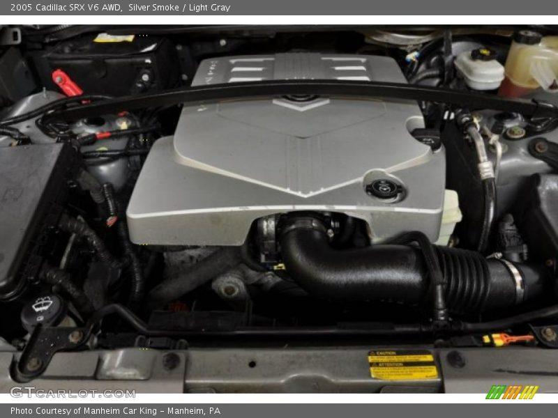 Silver Smoke / Light Gray 2005 Cadillac SRX V6 AWD