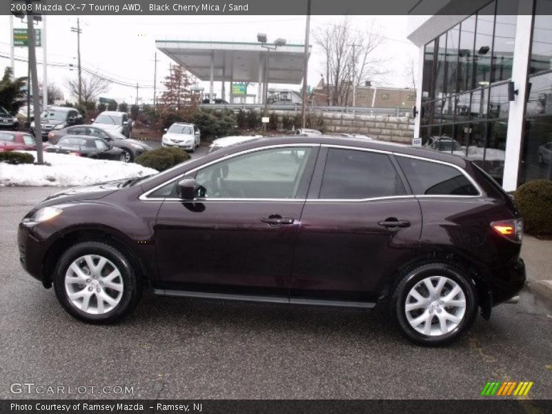 2008 mazda cx 7 touring awd in black cherry mica photo no 45985145. Black Bedroom Furniture Sets. Home Design Ideas