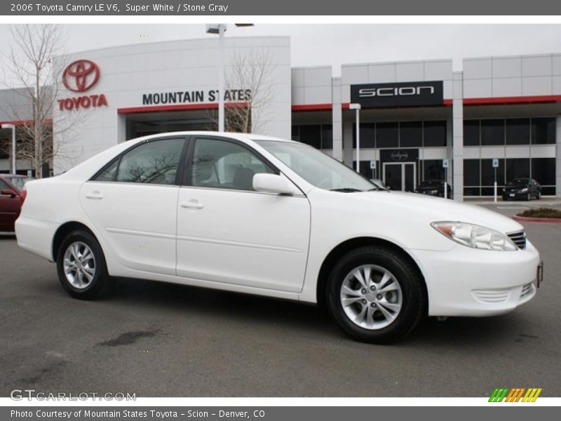 2006 toyota camry le v6 in super white photo no 46000811. Black Bedroom Furniture Sets. Home Design Ideas