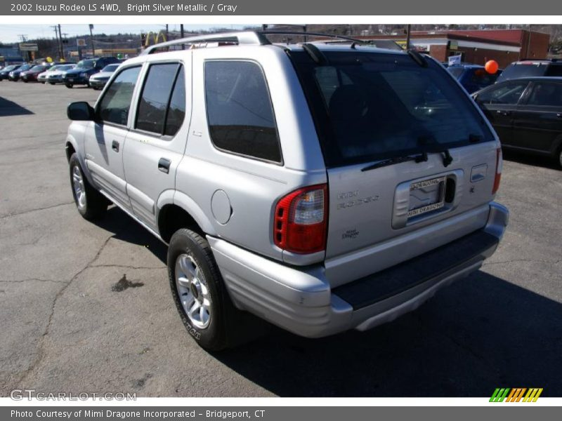 2002 isuzu rodeo ls 4wd in bright silver metallic photo no. Black Bedroom Furniture Sets. Home Design Ideas