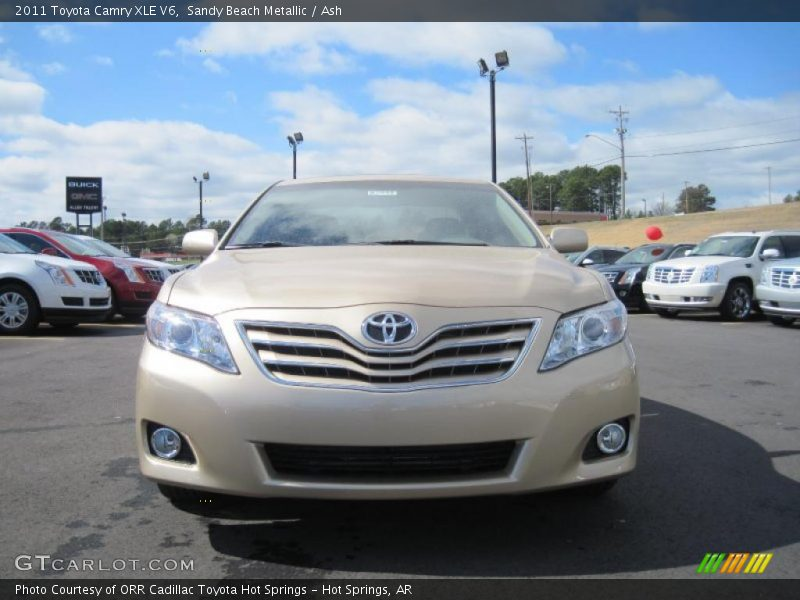 2011 toyota camry xle v6 in sandy beach metallic photo no. Black Bedroom Furniture Sets. Home Design Ideas