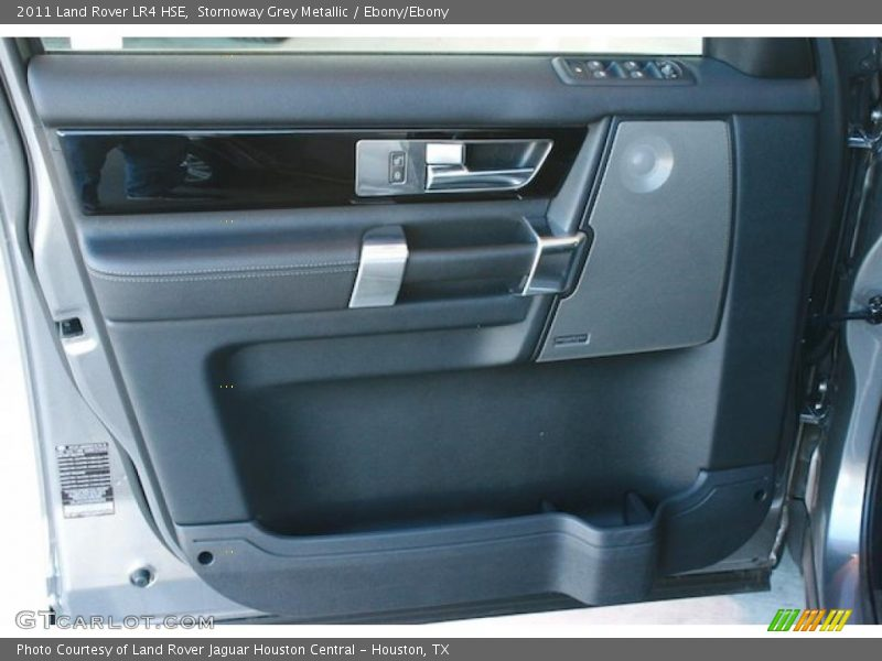 Stornoway Grey Metallic / Ebony/Ebony 2011 Land Rover LR4 HSE