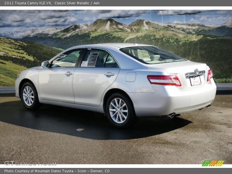2011 toyota camry xle v6 in classic silver metallic photo. Black Bedroom Furniture Sets. Home Design Ideas