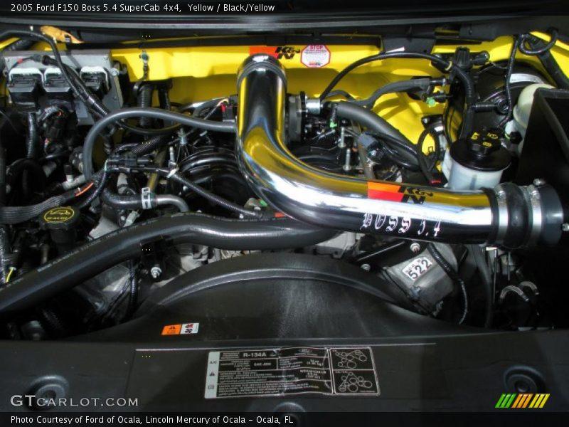 2005 f150 boss 5 4 supercab 4x4 engine 5 4 liter sohc 24 valve triton v8 photo no 46287844. Black Bedroom Furniture Sets. Home Design Ideas