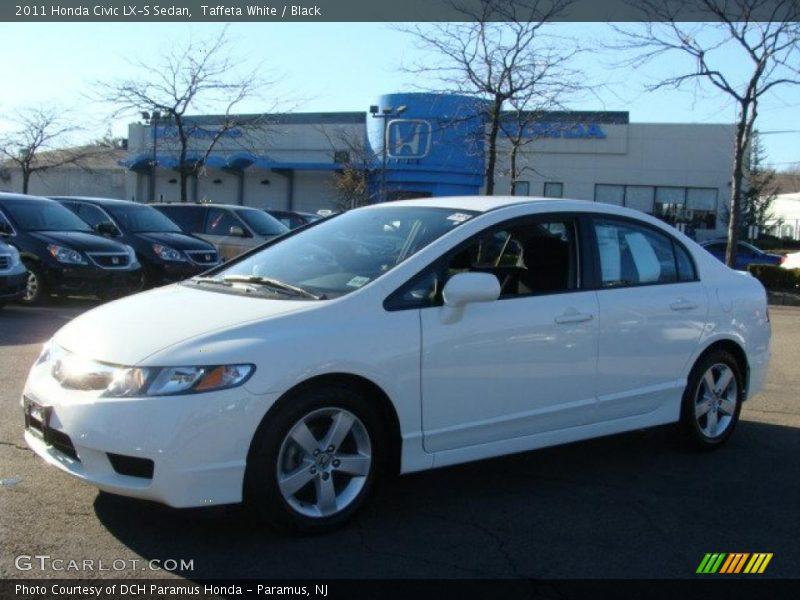 2011 Honda Civic Lx S Sedan In Taffeta White Photo No