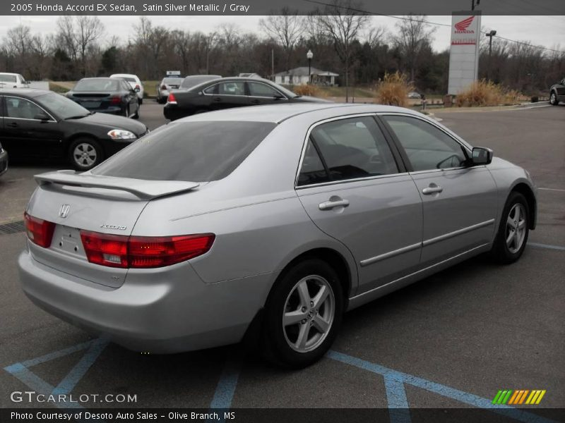 2005 honda accord ex sedan in satin silver metallic photo. Black Bedroom Furniture Sets. Home Design Ideas