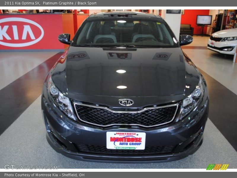 Platinum Graphite / Black Sport 2011 Kia Optima SX
