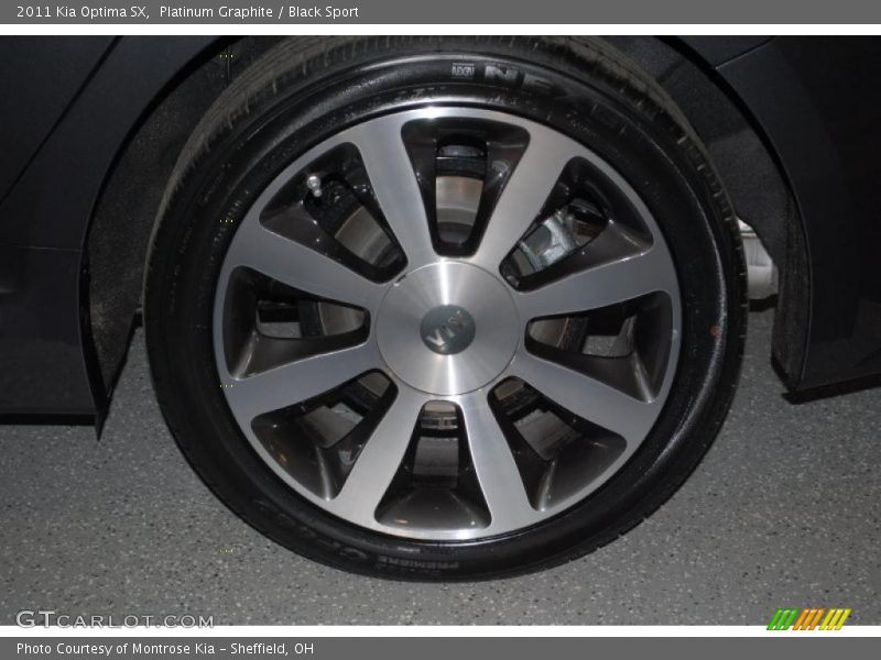 2011 Optima SX Wheel