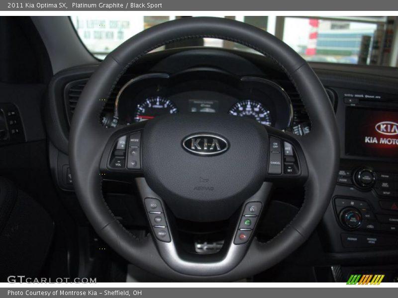 2011 Optima SX Steering Wheel