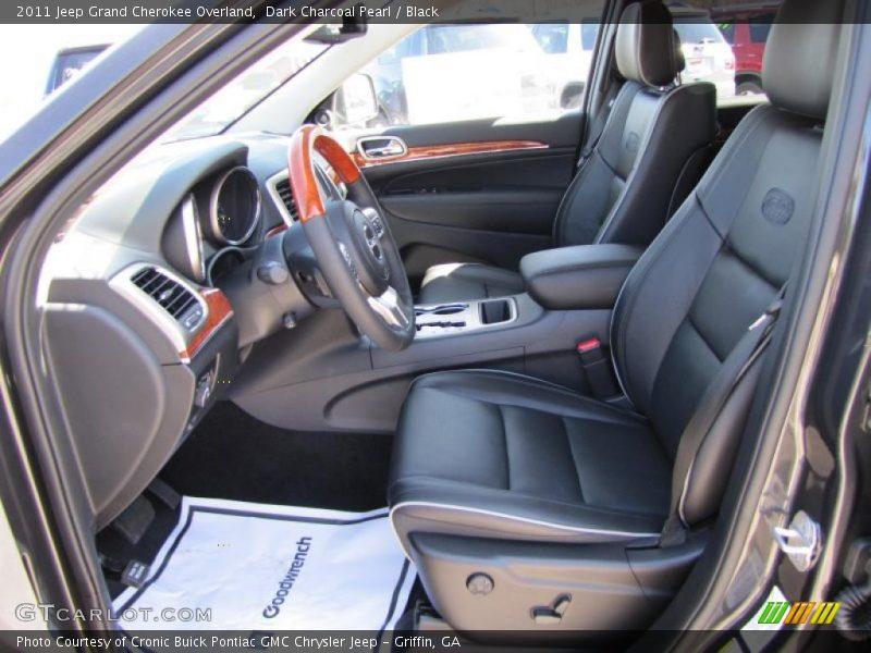 2011 Grand Cherokee Overland Black Interior Photo No 46557540