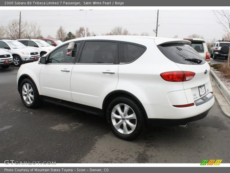 2006 subaru b9 tribeca limited 7 passenger in satin white. Black Bedroom Furniture Sets. Home Design Ideas