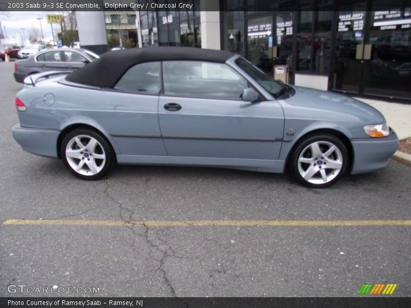 2003 saab 9 3 se convertible in dolphin grey photo no 46693307. Black Bedroom Furniture Sets. Home Design Ideas