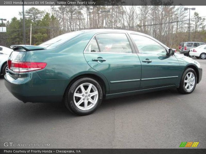 2003 honda accord ex v6 sedan in noble green pearl photo. Black Bedroom Furniture Sets. Home Design Ideas