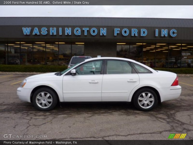 2006 ford five hundred se awd in oxford white photo no. Cars Review. Best American Auto & Cars Review