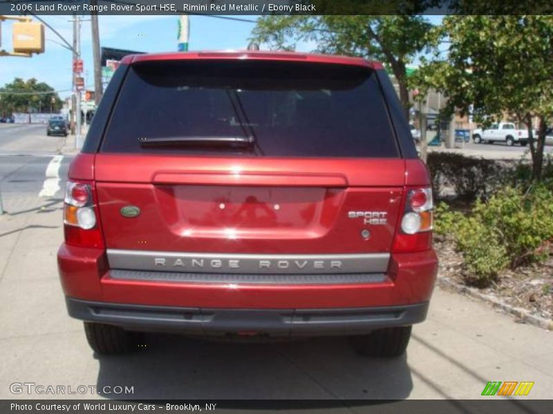 2006 Land Rover Range Rover Sport HSE in Rimini Red ...