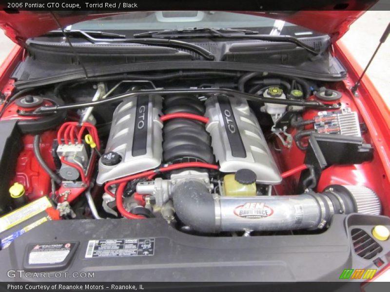 2006 GTO Coupe Engine - 6.0 Liter OHV 16 Valve LS2 V8