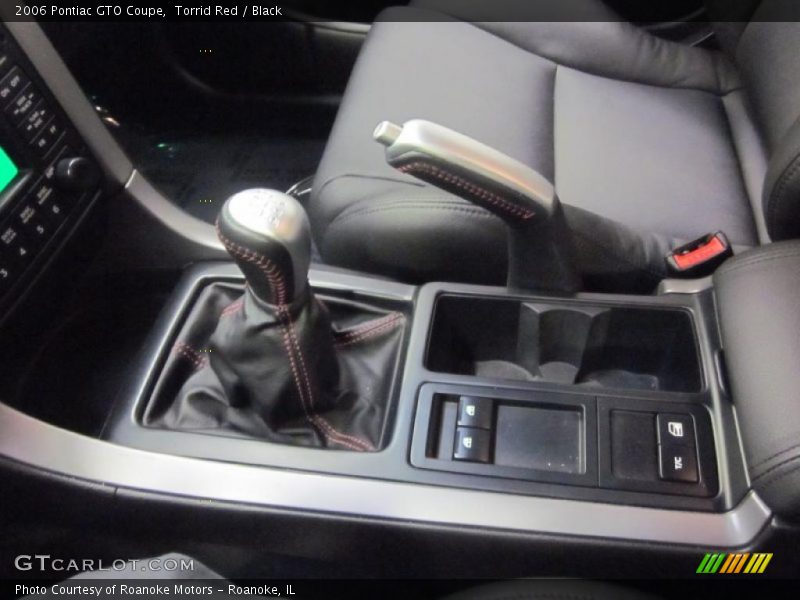 2006 GTO Coupe 6 Speed Manual Shifter