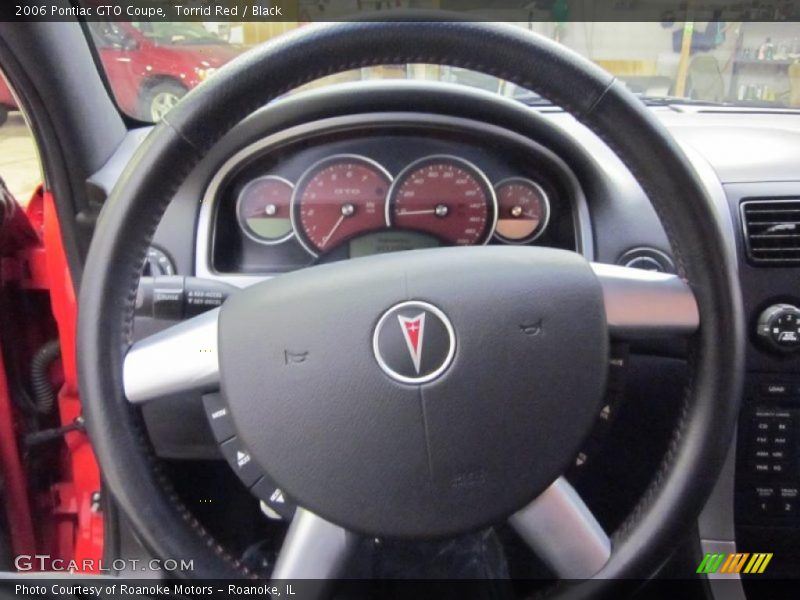 2006 GTO Coupe Coupe Gauges