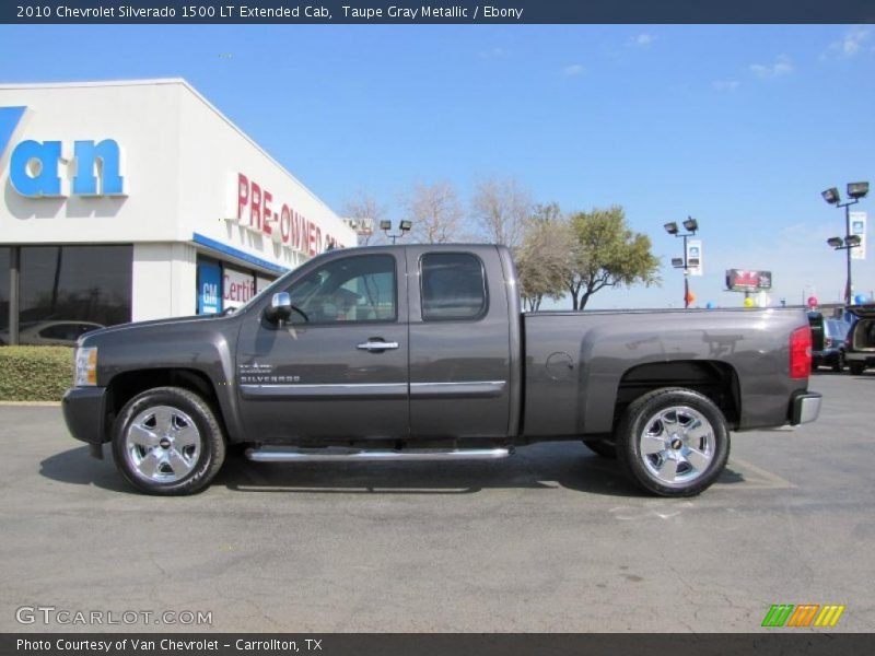 2010 chevrolet silverado 1500 lt extended cab in taupe gray metallic photo no 46772280. Black Bedroom Furniture Sets. Home Design Ideas