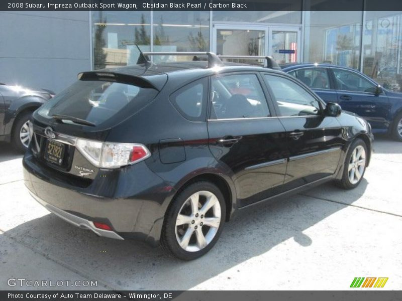 2008 Subaru Impreza Outback Sport Wagon in Obsidian Black Pearl Photo ...