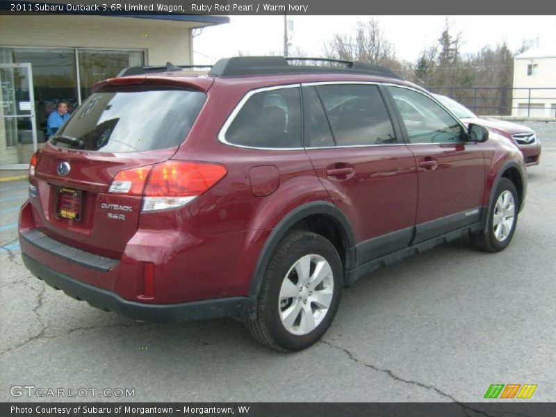 2011 subaru outback 3 6r limited wagon in ruby red pearl. Black Bedroom Furniture Sets. Home Design Ideas