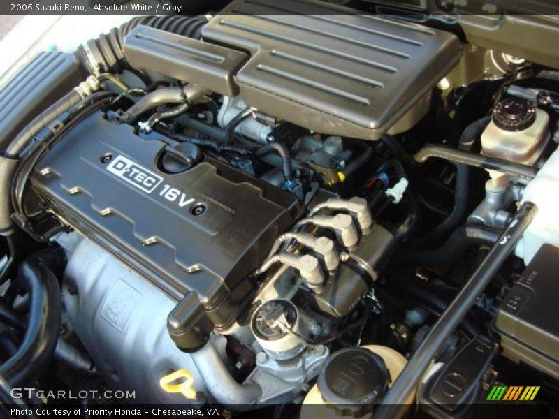 2006 Reno  Engine - 2.0 Liter DOHC 16-Valve 4 Cylinder