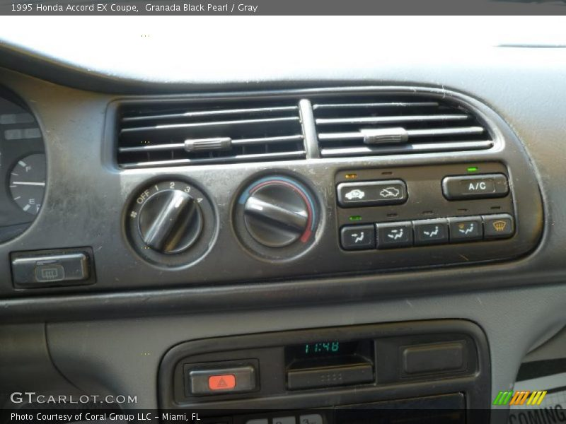 Controls of 1995 Accord EX Coupe
