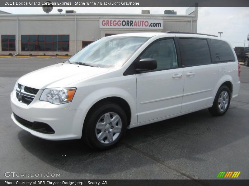 White Dodge Grand Caravan 2011, Dodge Grand Caravan 2011, White Dodge Caravan 2011