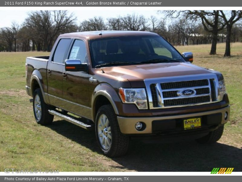 2011 ford f150 king ranch supercrew 4x4 in golden bronze metallic photo no 47075531. Black Bedroom Furniture Sets. Home Design Ideas