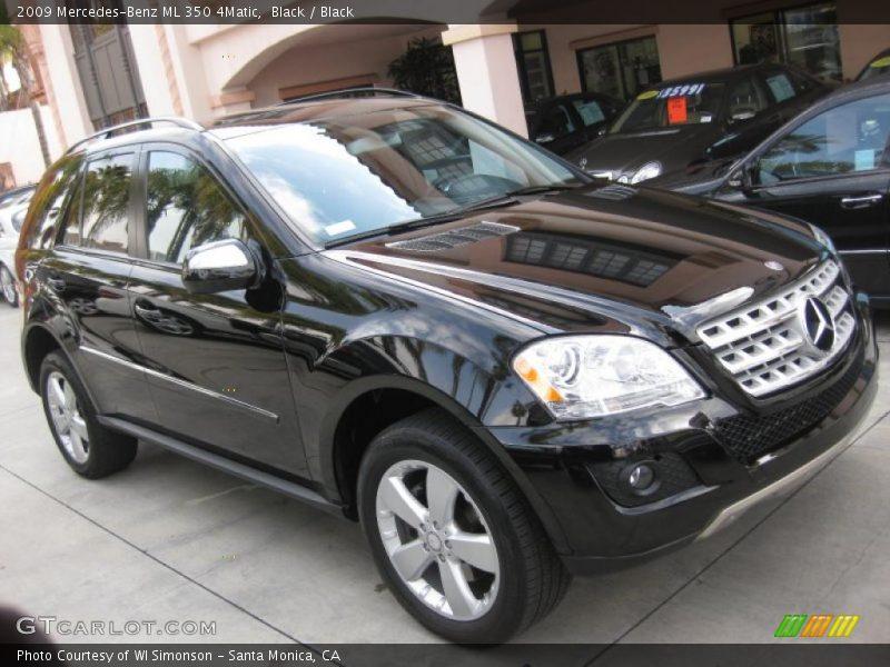 2009 mercedes benz ml 350 4matic in black photo no for Mercedes benz ml 350 2009