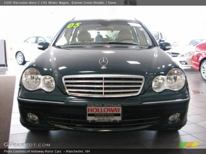 2005 mercedes benz c 240 4matic wagon in everest green for G stone motors used cars