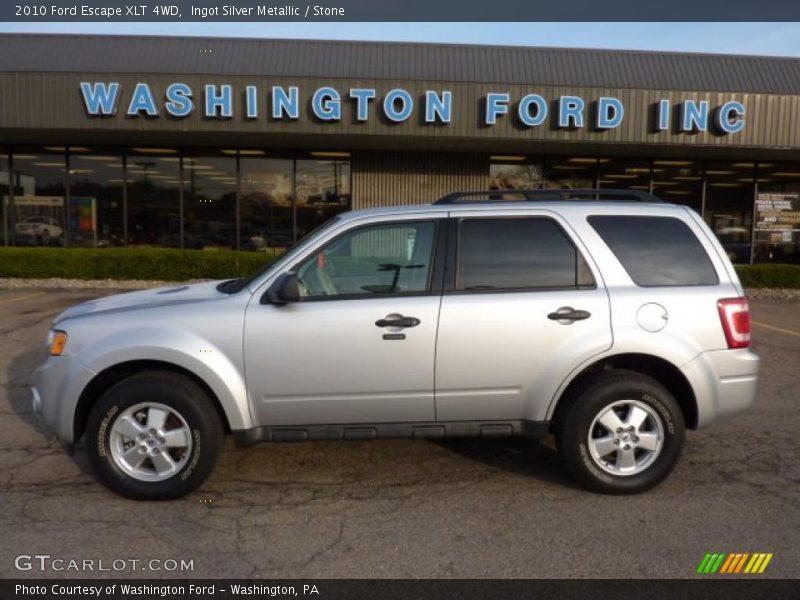 2010 ford escape xlt 4wd in ingot silver metallic photo no 47175228. Black Bedroom Furniture Sets. Home Design Ideas