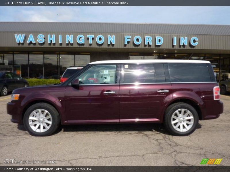 2011 ford flex sel awd in bordeaux reserve red metallic. Black Bedroom Furniture Sets. Home Design Ideas