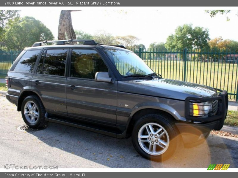2000 land rover range rover 4 6 hse in niagara grey photo no 47194226. Black Bedroom Furniture Sets. Home Design Ideas