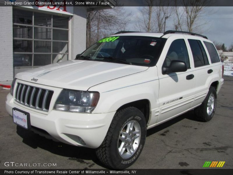 stone white taupe 2004 jeep grand cherokee laredo 4x4 photo 1. Cars Review. Best American Auto & Cars Review
