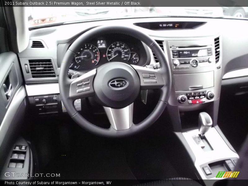 to this Steel Silver Metallic 2011 Subaru Outback 2.5i Premium Wagon