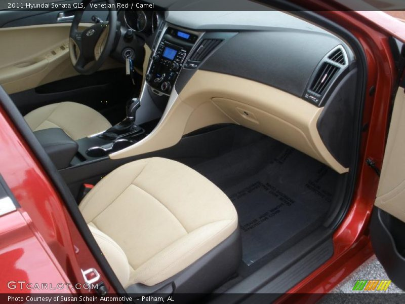 2011 Sonata Gls Camel Interior Photo No 47232206