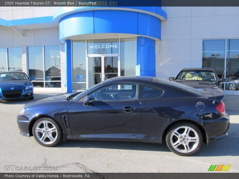 2005 Hyundai Tiburon Gt In Moonlit Blue Photo No 47263118