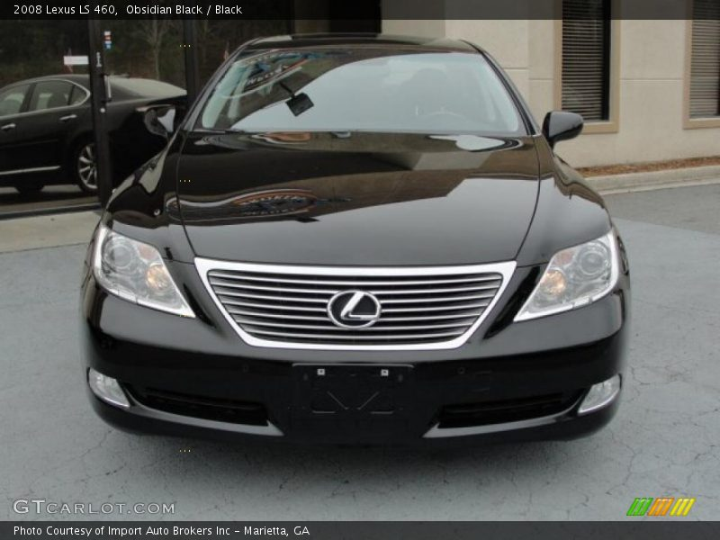 2008 lexus ls 460 in obsidian black photo no 47302337. Black Bedroom Furniture Sets. Home Design Ideas