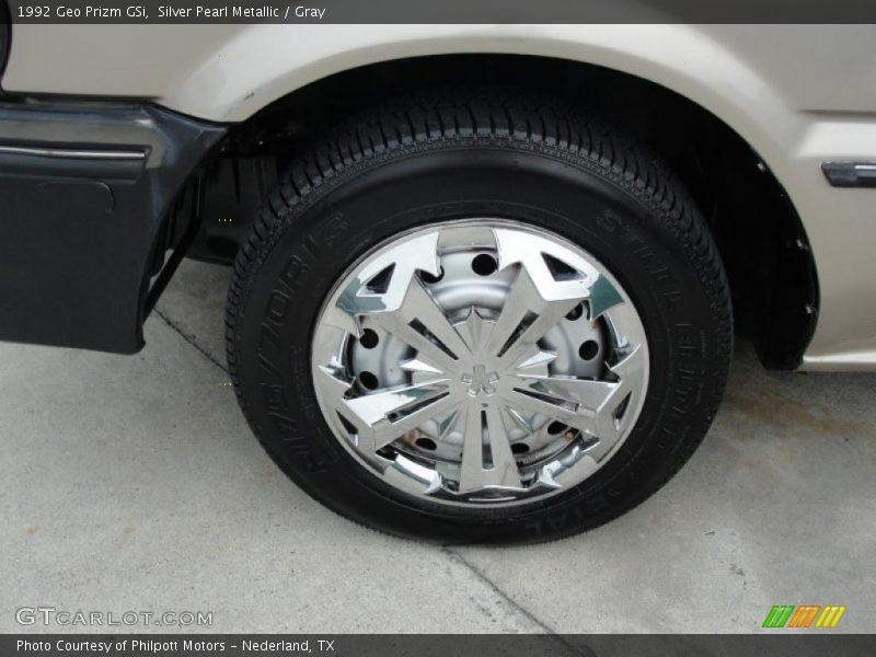 Custom Wheels of 1992 Prizm GSi