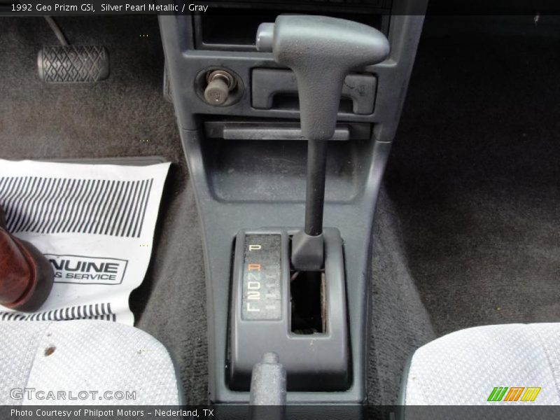 1992 Prizm GSi 3 Speed Automatic Shifter
