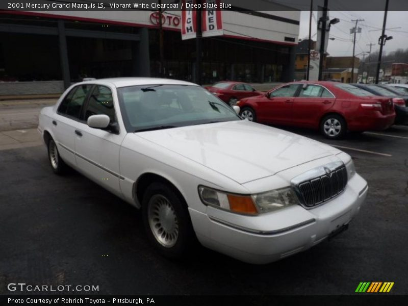 2001 mercury grand marquis ls in vibrant white clearcoat photo no 47439780. Black Bedroom Furniture Sets. Home Design Ideas