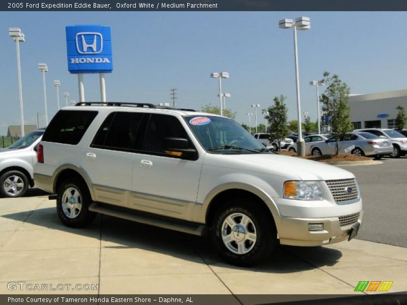 2005 ford expedition eddie bauer in oxford white photo no 47522395. Black Bedroom Furniture Sets. Home Design Ideas