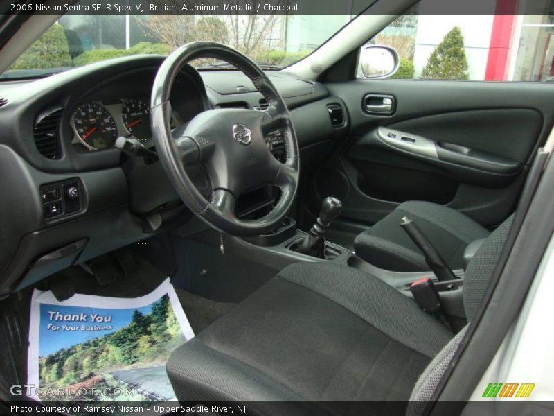 2006 Sentra Se R Spec V Charcoal Interior Photo No 47581166